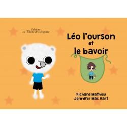 Léo l'ourson et le bavoir