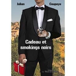 Cadeau et smokings noirs -...