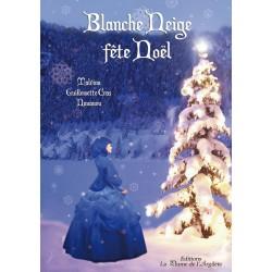 Blanche Neige fête Noël -...